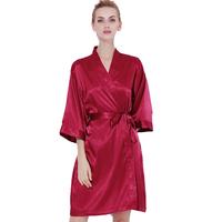 3916533344 Cheap Red Kimono Robe