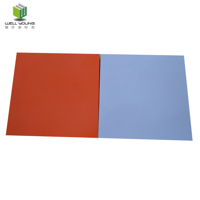 China material de construcción plana laminado HPL panel de pared para decoración de la pared interior