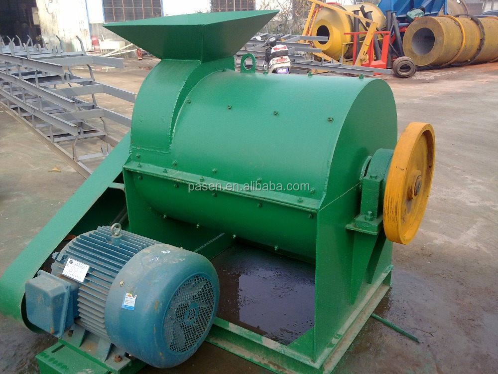 Biomass Fertilizer Grinder Mill | Food Waste Crushing Machine