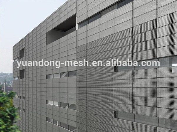 Stainless Steel Perforated Decorative Exterior Wall Panels