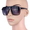 Thick Big Frame Color lenses COOL Party Large Eyeglasses sunglasses women UV400