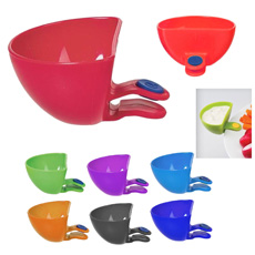 New smart party event seasoning pot table plate mate clip dressing salad bowl tray dishes plastic sweet chili tomato sauce cups