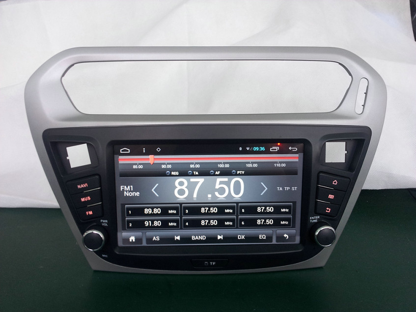 Ugode Android 4.4/6.0 8inch 2 Din 1024*600 For Citroen C-elysee ...