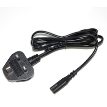 Promotional black.white red yellow 1m 1.2m 1.5m 1.8m 2m 3m UK swivel power cord
