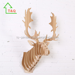 NEW REINDEER 3D WOODEN PUZZLE WALL DECOR ART PROJECT REWARD