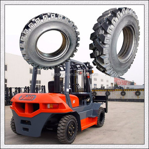250-15 300-15 Polyurethane solid mining tyre for Caterpillar