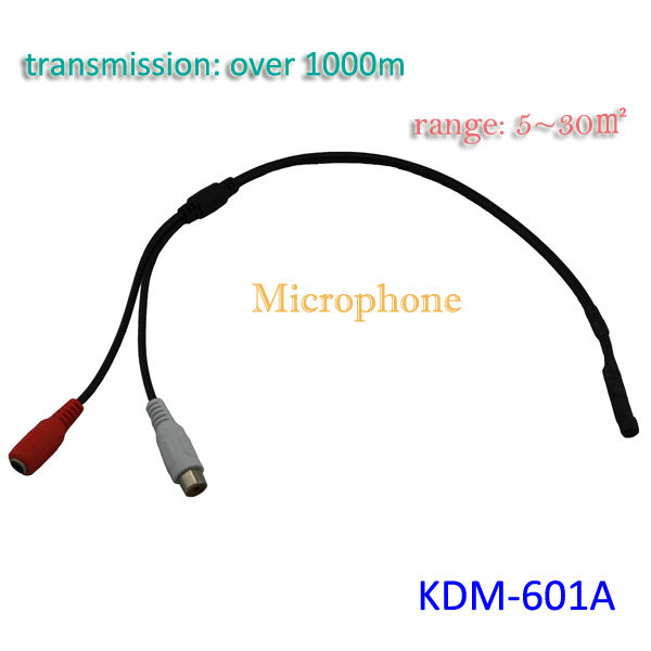 CCTV Accessories Sound Pickup Audio Microphone