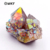 WT-G256 WKT Fashion Natural Angel quartz stone Rare angel aura quartz cluster with color electroplated only wholesale price