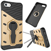 360 Degree rotating bracket armor golden waterproof cell phone case cover for Apple iPhone 5s