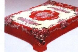Classical Print Solaron Korean Thick Mink Plush Blanket Queen