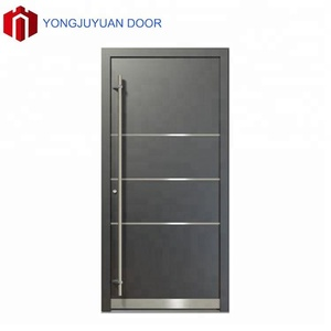 Luxury modern white apartment villa metal security residential main modern safety building entrance doors