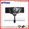 Mb412 Swivel Hanging Adjustable Dual Lcd Monitor Arm Stand
