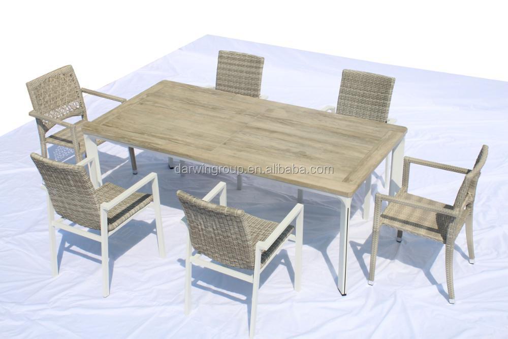 moderno mimbre comedor mesas sillas utilizado para restaurante comedor mesa y sillas