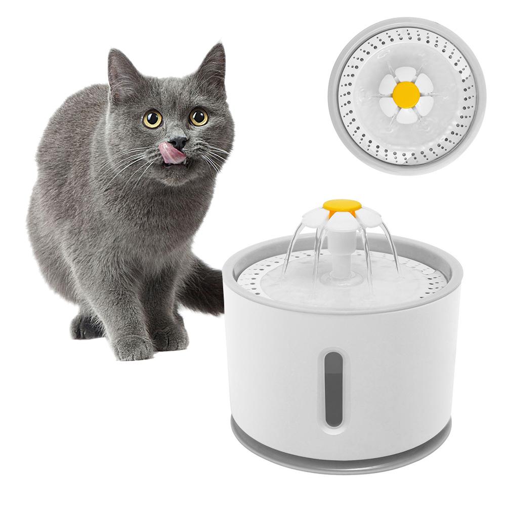 Автоматическая миска для питья кошек и кошек, большая миска для питья кошек, автоматический питательный фильтр для напитков(Китай)