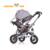 Factory supply kids smart fold able push trike baby tricycle with patent have headlights and music for 6-24 months' suitable
