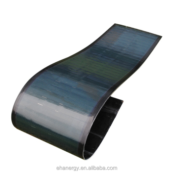 Hanergy 75w Miasole solar energy flexible panels prices portable with thin film technology amorphous silicon charger
