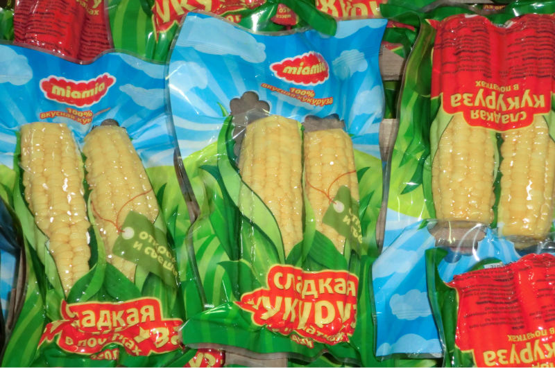 sweet corn cob in vacuum vacuum packed sweet corn sweet corn wholesale