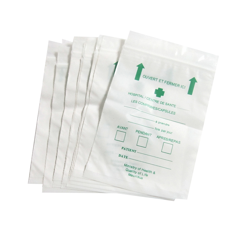 Perfect Services Printed Plastic S Small Ziplock Bag For Medical Pill Bags