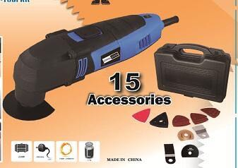 Hot sale oscliating multi tools with full set accessories
