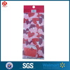 Valentine party decoration plastic cellophane bags for candy,cookies