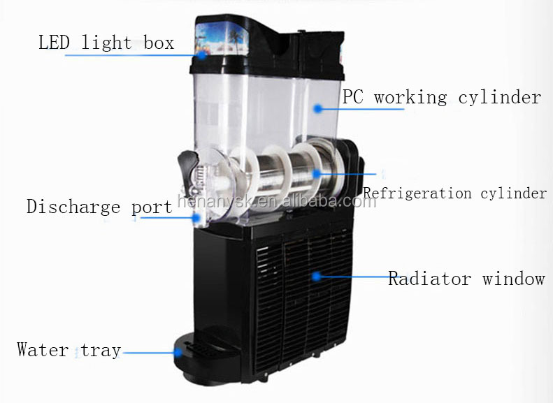 IS-TKX-01 Commercial Fully Automatic Single Cylinder Smoothie Maker Smoothie Blender Machine