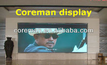 Exhibition room video SMD big board advertising led display indoor p5 p6/ p4 p7.62 p8 led advertising digital display board