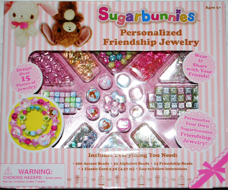 Sanrio Sugarbunnies Personalized Friendship Jewelry