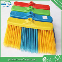 High quality brush and broom manufacturer made ekel low price printing plastic broom head