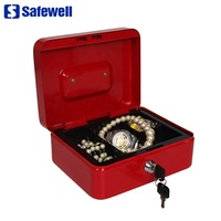 Safewell YFC-25 High Quality Steel Strong Portable Laptop And Cash Safe Box