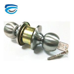 Cheap Price Round Cylinder Door Locks for Hotel Door Bathroom