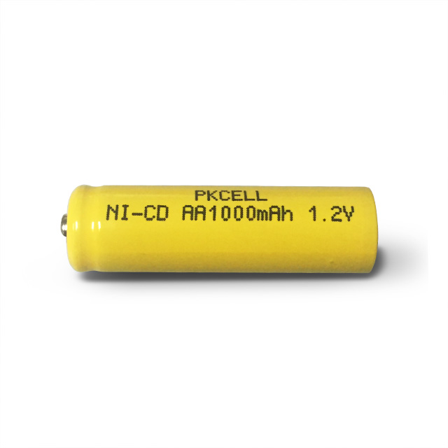 1.2v/2.4v/3.6v/7.2v ni cd rechargeable battery AA1000 battery and battery pack