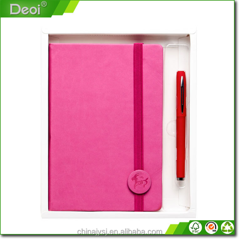 wholesale factory eco notebook with pen