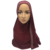 2017 Fashion women jersey scarf 10 colors stretch muslim Rhinestone hijab