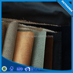 Polyester Only Dyed Bonded Twill Fabric Stripe Dyed Warp Knitting Fabric