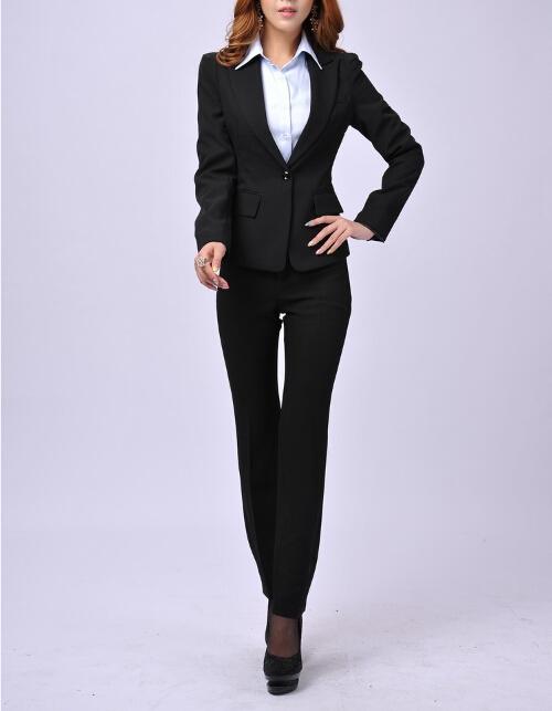 Spiksplinternieuw Dames Pak Ontwerp Mode Vrouwen Pakken - Buy Pak,Vrouwen Pakken HG-73