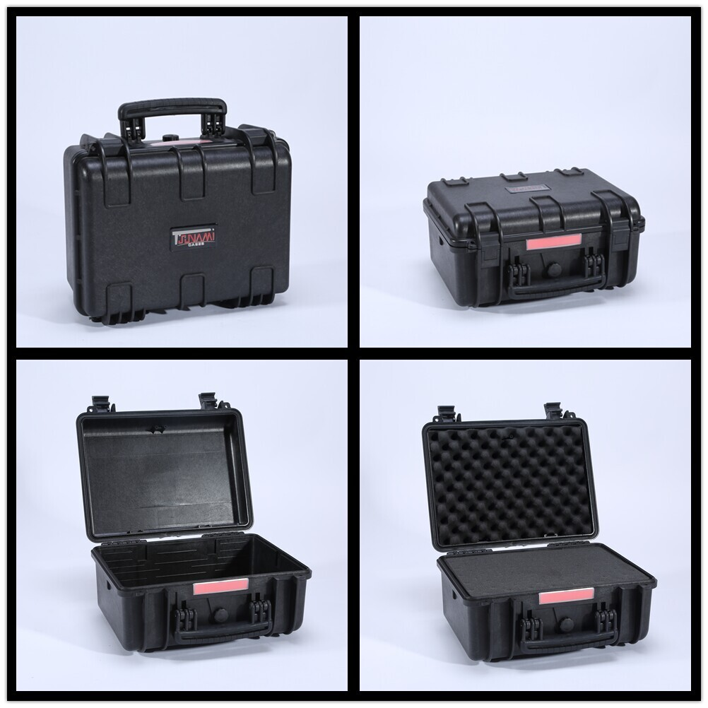Waterproof Crushproof Safety Hard Resin Equipment Case With Foam