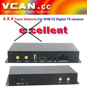 DVB-T240 car tv vintage dect 12v tv antenna uhf vhf global tv receiver