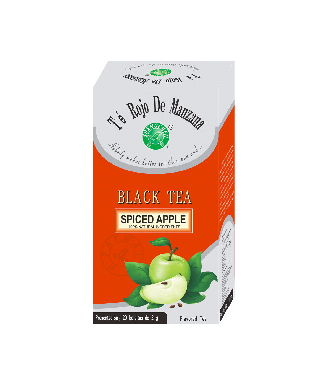 OEM private label for 2g*20 teabags/box organic apple tea with assorted flavor - 4uTea | 4uTea.com