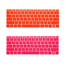 Factory price wholesale Waterproof and dustproof Silicone Cover for macbook keyboard cover