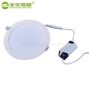Factory price ultra thin smd recessed round plastic 12v 3w 5w 7w 9w 12w 15w led downlight pure white/warm white