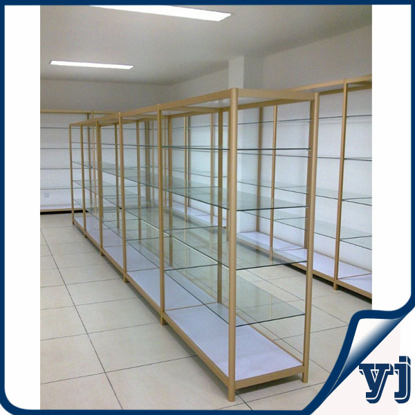 retail shop aluminum extrusion display display cabinets for model carsglass display