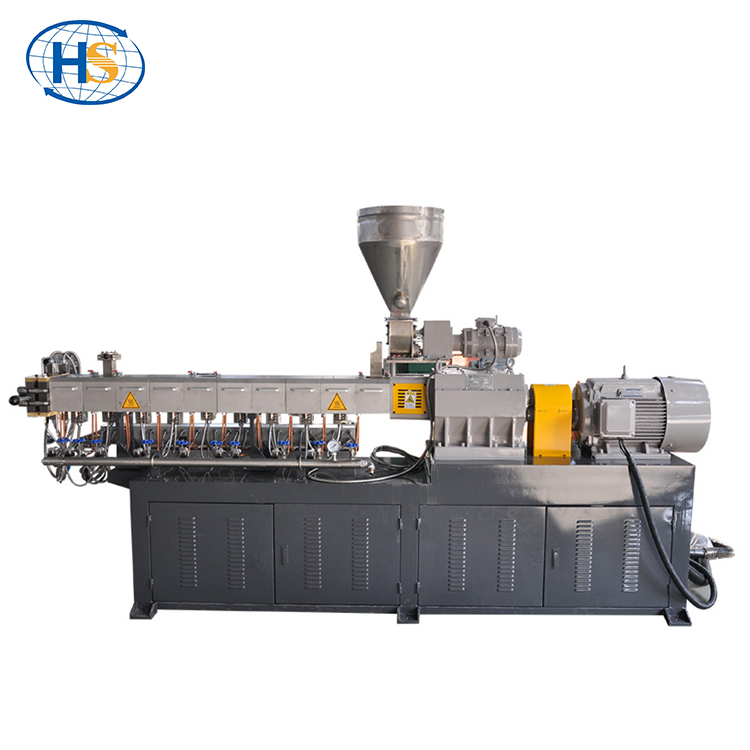 HISILICON mini plastic pellet Polymeer compounding parallel co-roterende twin schroef extruder prijs