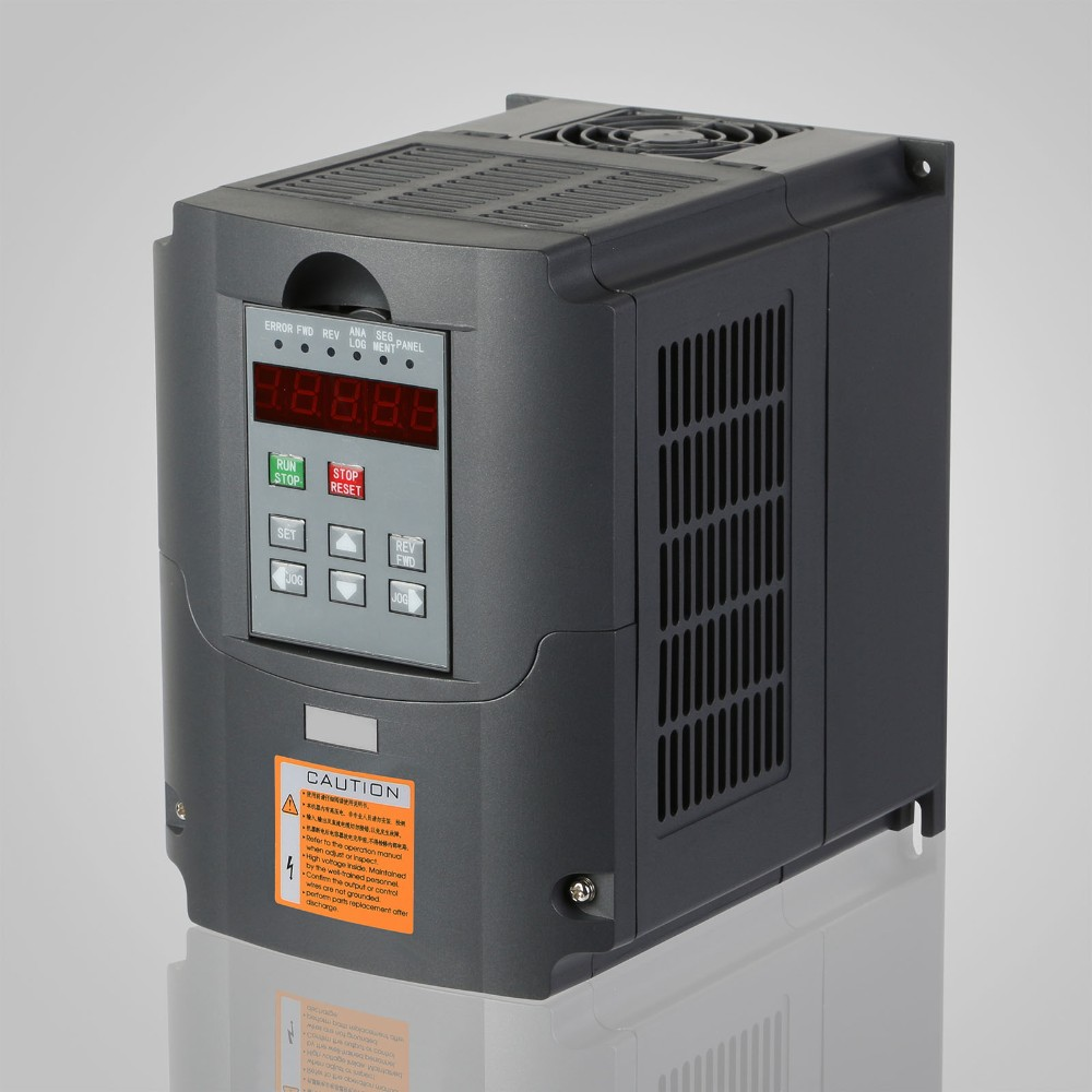 2hp vfd 7a 220v single phase variable speed drive for Inverter to run 1 hp motor