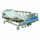 Hospital furniture and equipment Three crank Manual Hospital Patient Bed