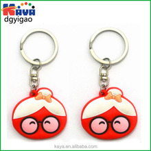 Directly factory custom soft pvc keychain for premium gifts
