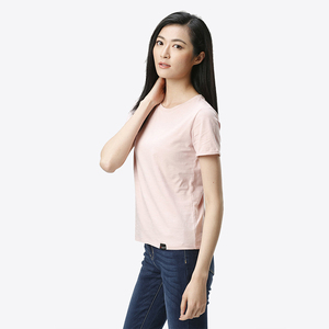 Bulk Premium Cotton plain Short Sleeve T Shirts for Women