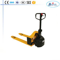 warehouse equipment lifting instrument battery 1.5t 1500kg semi electric pallet truck