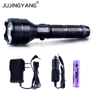 5W Q5 LED flashlight charging 18650 bright light aluminum alloy waterproof torch for military,police,self-defense