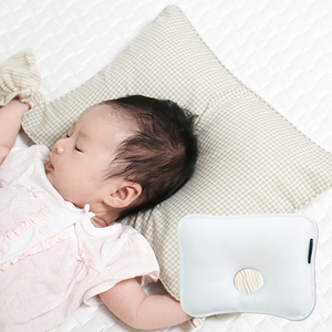 New Design 3D Polyester Mesh Fabric Pillow Hollow Baby Head Shaping Pillow