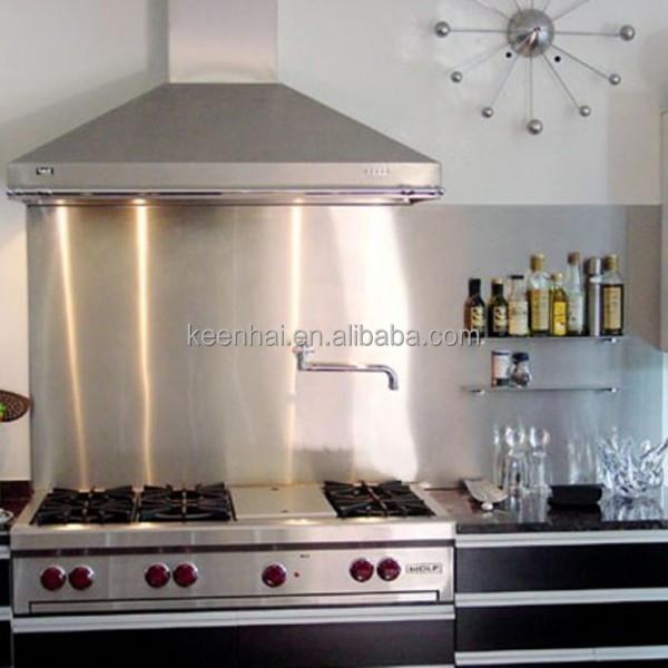 304 4x8 decorativi interni in acciaio inox pannelli per for Pannelli per coprire piastrelle cucina